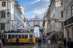 Straße von Lissabon Lizenzfreies Stockbild