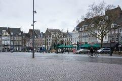 Straße von Maastricht Stockfotos