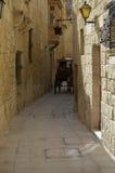 Straße von Malta stockfotos