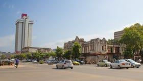 Straße von Maputo Stockfoto