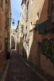 Straße von Marseille Lizenzfreies Stockfoto