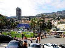 Straße von Monaco Stockbild