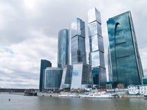 Straße von Moskau, Russland Lizenzfreie Stockbilder