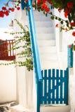 Straße von mykonos Lizenzfreie Stockbilder