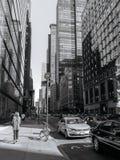 Straße von New York Lizenzfreies Stockfoto