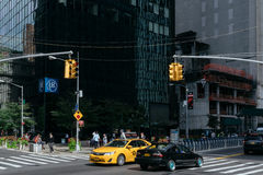 Straße von New York Lizenzfreie Stockfotos
