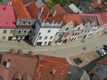 Straße von oben Lizenzfreies Stockfoto