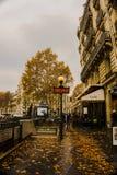 Straße von Paris lizenzfreie stockfotos