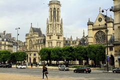 Straße von Paris Stockfoto