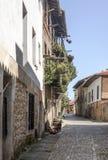 Straße von Santillana Del Mar lizenzfreie stockfotos