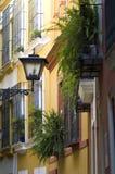 Straße von Sevilla Stockfoto