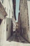 Straße von Spoleto Stockbild