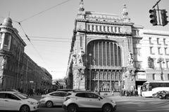Straße von St Petersburg Stockfotos