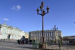 Straße von St Petersburg Stockfotografie