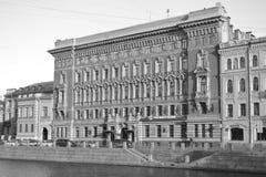 Straße von St Petersburg Lizenzfreie Stockfotografie