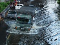 Straße von Thailand lizenzfreie stockbilder