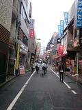 Straße von Tokyo Stockfotos