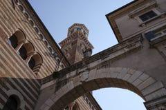 Straße von Verona Lizenzfreies Stockbild