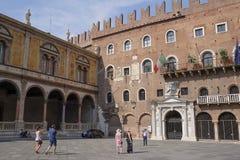 Straße von Verona Lizenzfreie Stockfotografie