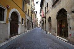 Straße von Verona Stockfoto