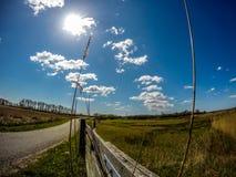 Straße von Wolken Lizenzfreie Stockfotos
