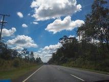 Straße voran Stockfoto