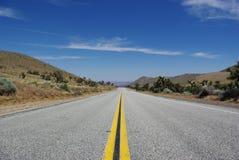 Straße zu Stockbild