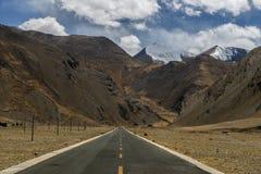 Straße zu Everest Lizenzfreie Stockfotografie
