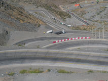Straße zu Mendoza Stockfotos