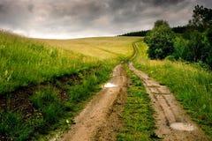 Straße zu nirgendwo. Stockfotos