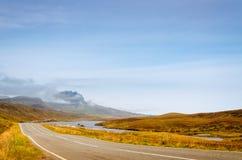 Straße zu Quiraing Lizenzfreie Stockbilder