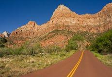 Straße zu Zion Lizenzfreies Stockfoto