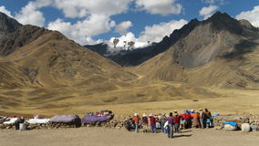 Straße zum cusco Lizenzfreie Stockbilder
