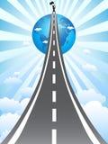 Straße zum Erfolg Stockbilder