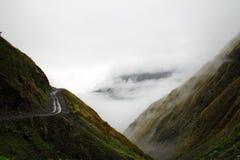 Straße zum Himmel Stockfotografie
