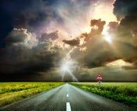 Straße zum Himmel Lizenzfreie Stockbilder