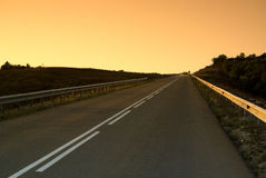Straße zum Himmel lizenzfreies stockbild