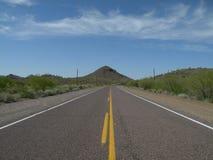 Straße zum Himmel - Straßen-Archivbild 1 Stockfoto