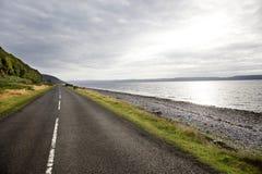 Straße zum Horizont Lizenzfreies Stockfoto