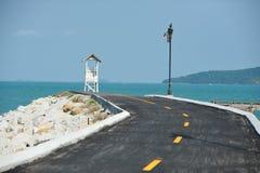 Straße zum Meer Lizenzfreie Stockfotografie