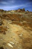 Straße zum Omu Schutz Stockfoto