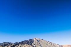 Straße zum Vulkan Stockbilder