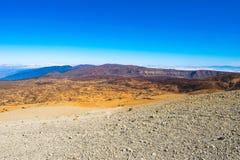 Straße zum Vulkan Lizenzfreies Stockbild