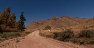 Straße zur Spitze Stockbild