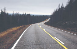 Straße zur Unbegrenztheit Stockbilder