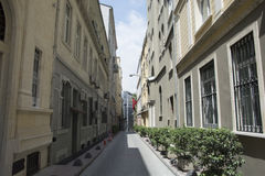 Straße zwischen Lizenzfreies Stockfoto