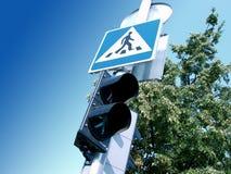 Straßenüberfahrt Stockbild