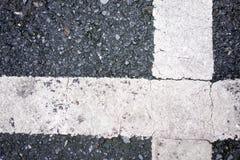 Straßenüberquerung Beschaffenheit Lizenzfreies Stockbild