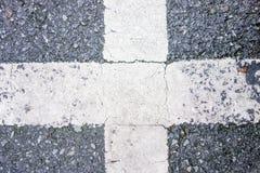 Straßenüberquerung Beschaffenheit Lizenzfreie Stockfotos