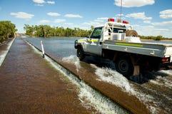 Straßenüberschwemmung lizenzfreies stockfoto